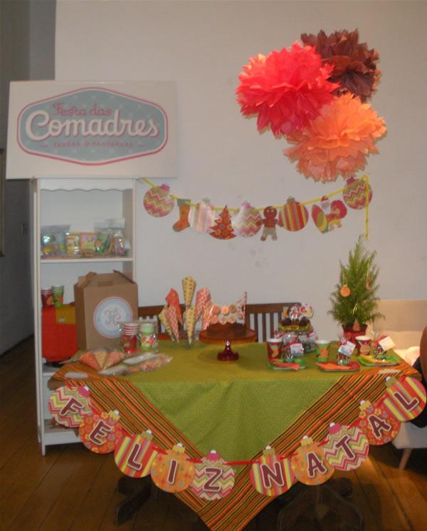 mesa completa Festa das Comadres