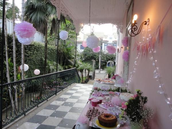decoração de festa da Fricotes & Comidinhas