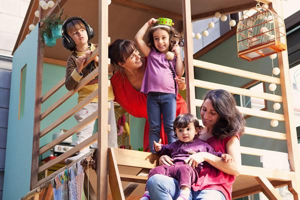 Mamusca - pais e filhos