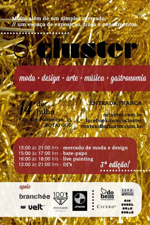 convite O Cluster