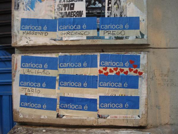 O carioca é...